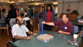 Acquisition Interns Spend the Day with Veterans at the VA Loch Raven Community Living and Rehabilitation Center