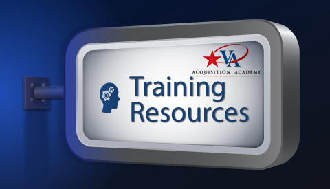 Training Resources Sign